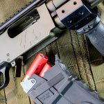 Black Aces Tactical DT Shotgun, 12-gauge shotgun, magazine