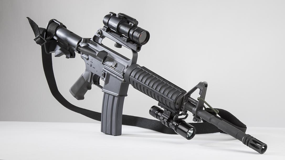 Troy M16A2 SFOD-D Carbine, Mogadishu rifle, full rifle