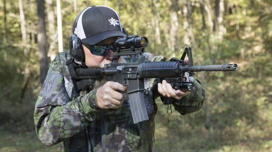 Troy M16A2 SFOD-D Carbine, Mogadishu rifle, range test