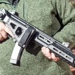 CZ Scorpion EVO 3 S1 Carbine review, Ballistic's best, folded stock
