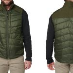 Ballistic Gear Grab, 5.11 Tactical Peninsula Insulator Packable Vest, front and back