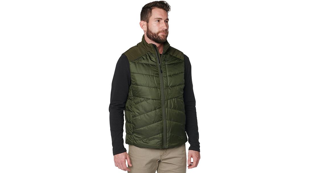 Ballistic Gear Grab, 5.11 Tactical Peninsula Insulator Packable Vest, EDC