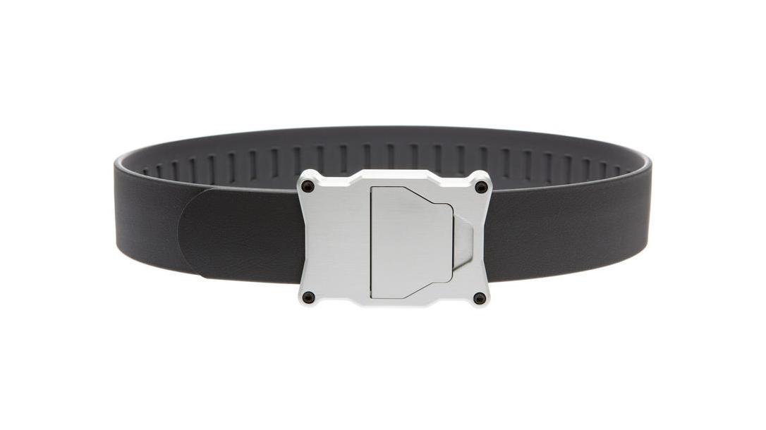 Ballistic Gear Grab, Boxer Tactical Apogee EDC Ratchet Belt, gray