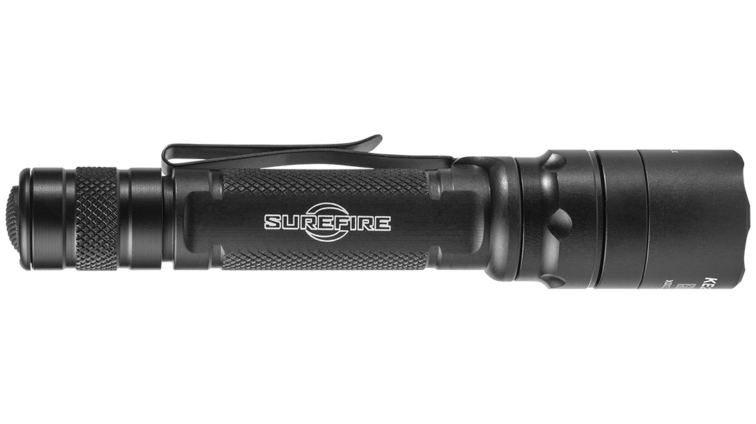Ballistic Gear Grab, SureFire EDCL2-T Flashlight, right