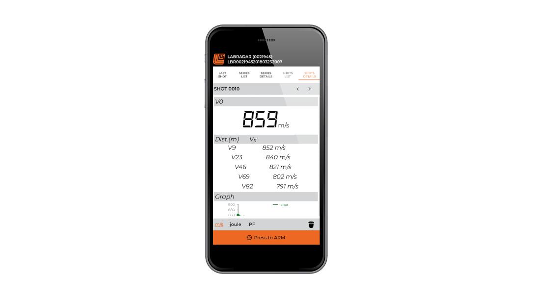 Ballistic Gear Grab, LabRadar, phone