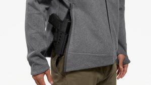 Ballistic Gear Grab, Viktos EDC Tech Fleece, concealed carry