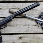 Purchasing Firearm Suppressor, BAFTE, two handguns