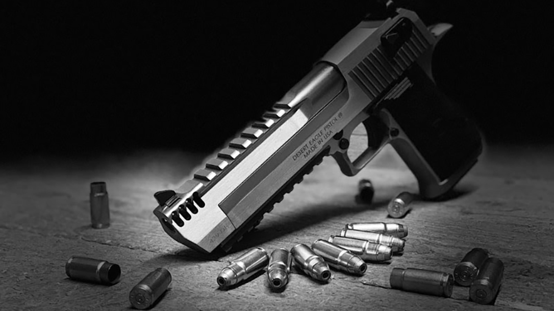 New Magnum Research 429 Desert Eagle Cartridge Laughs at 44