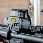 EOTech EXPS2 Green Holographic Weapon Sight, mounted