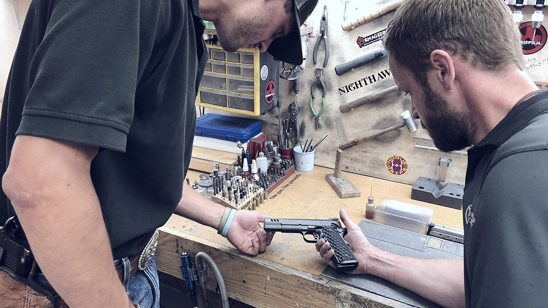 Nighthawk President Pistol, 9mm pistol, Nighthawk Custom shop