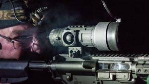 Trijicon REAP IR 60mm mini thermal riflescope, shooting bench, review