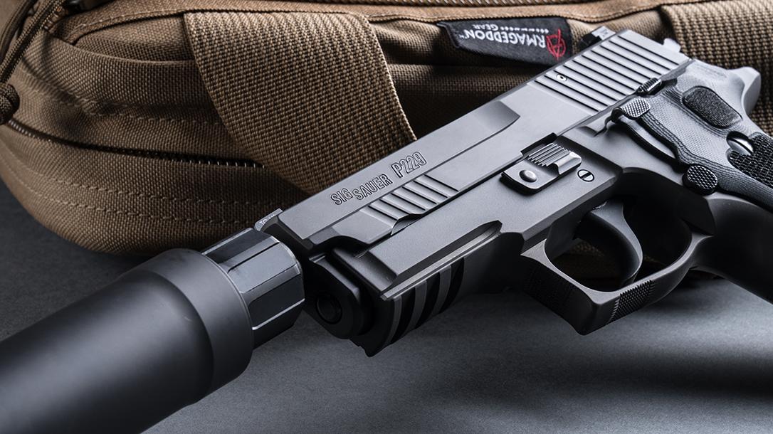 Handgun Test: Shooting a SIG P229 Legion Pistol with a SRD9