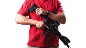 CMMG RipBrace Retractable AR Pistol Brace, SB Tactical