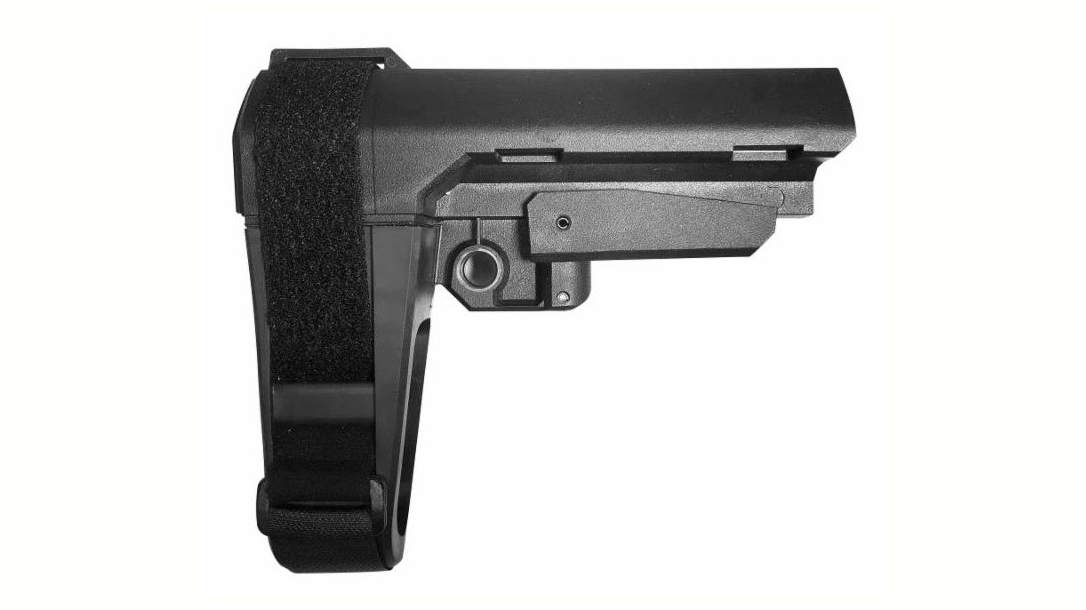 CMMG RipBrace Retractable AR Pistol Brace, SB Tactical, standard version