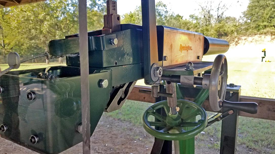 Remington MasterBlaster, 8-gauge, industrial gun, right