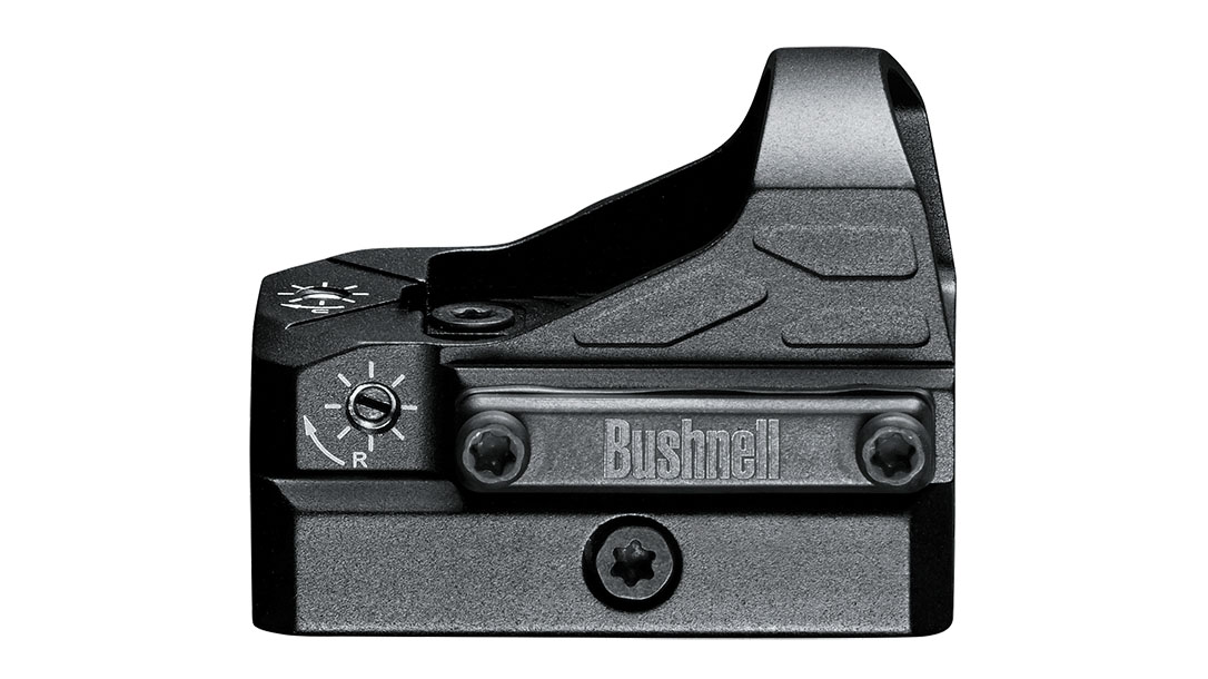 Bushnell Advance Red Dot Reflex Sight review, side