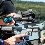 Burris TMPR Prism Sight, rifle, range test
