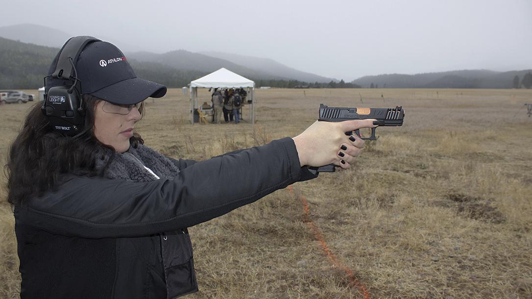 ZEV Z19 Spartan Pistol review, glock, author