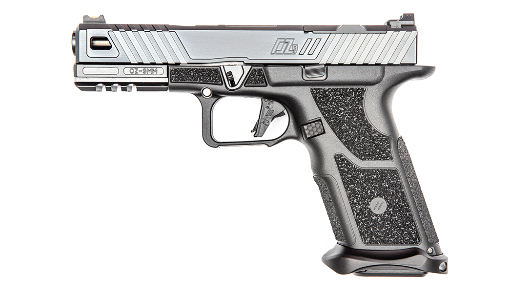 ZEV OZ9 Pistol, ZEV Technologies OZ9, pistol review, left