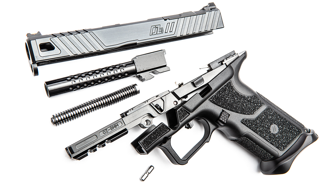 ZEV OZ9 Pistol, ZEV Technologies OZ9, pistol review, parts