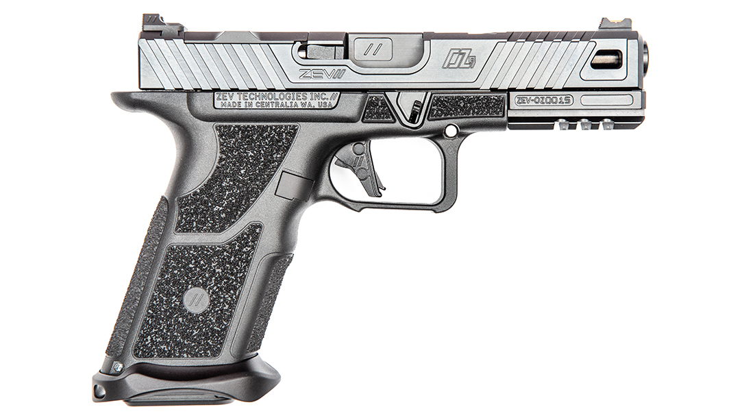 ZEV OZ9 Pistol, ZEV Technologies OZ9, pistol review, right