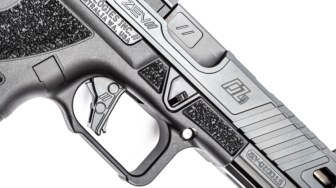 ZEV OZ9 Pistol, ZEV Technologies OZ9, pistol review, trigger