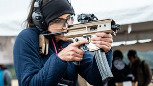 SIG Sauer MPX Copperhead, SIG Copperhead, Lauren Young