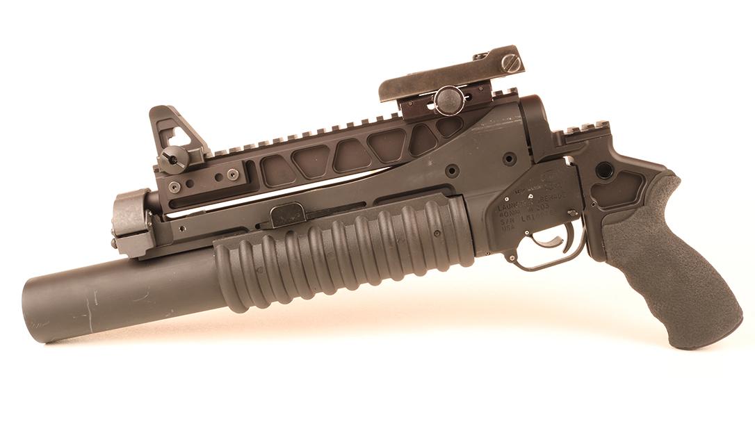M203 Grenade Launcher, left
