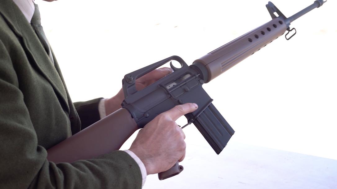 Brownells BRN-PROTO AR-15 test, range
