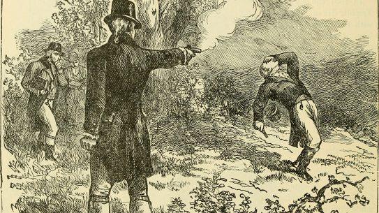 Most Valuable Firearm History, Aaron Burr, Alexander Hamilton