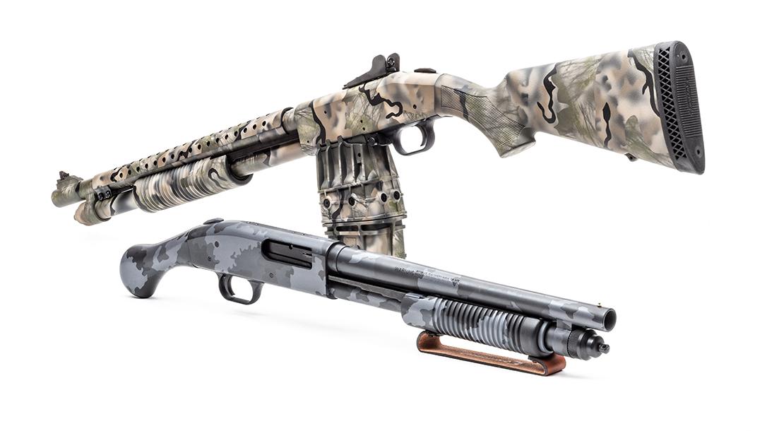 Mossberg 590 Shotguns, camouflage, camo shotguns, giveaway