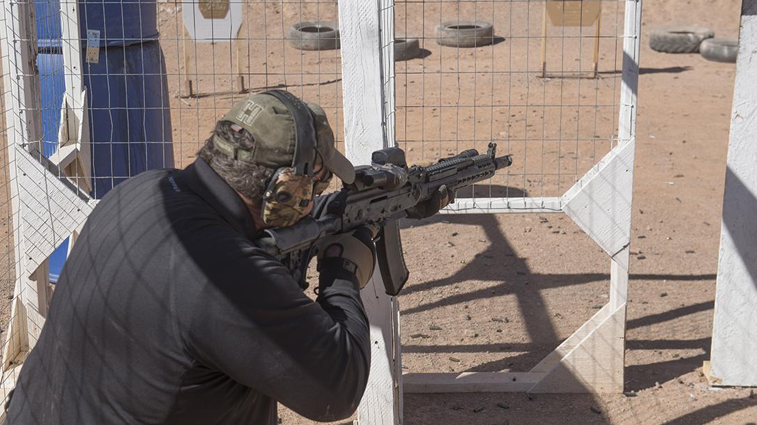 Joe Firearms CompetitionAK-74 Rifle, course, range