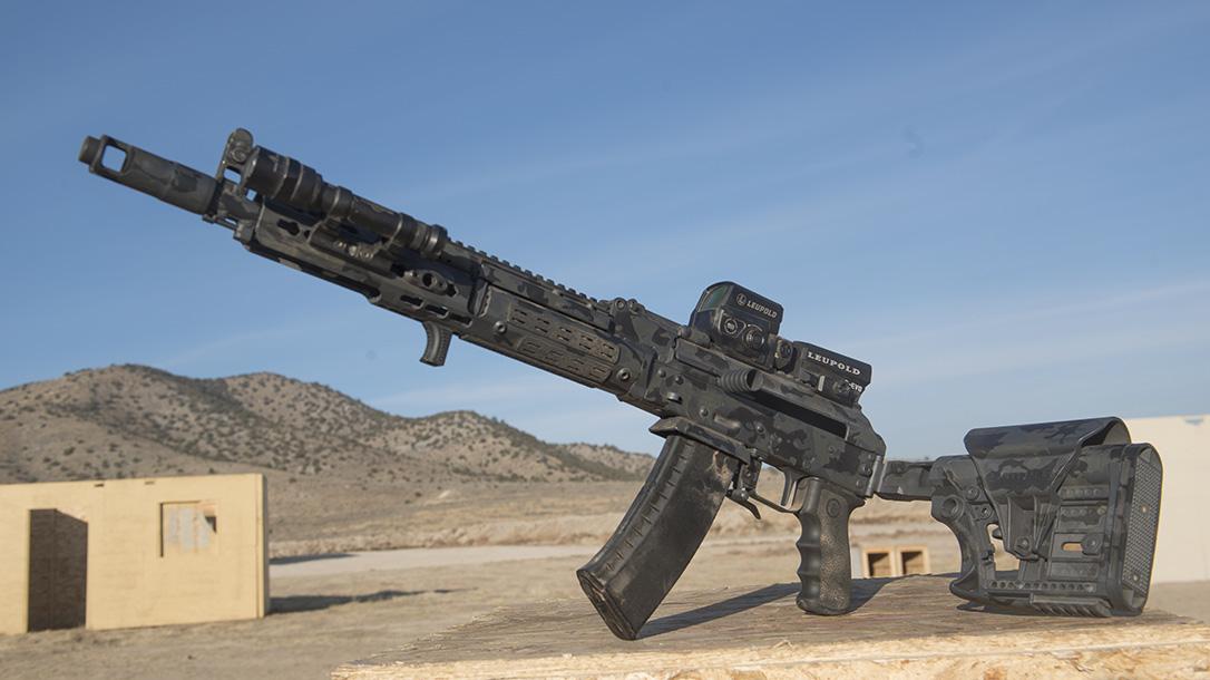 Joe Firearms CompetitionAK-74 Rifle, folded stock