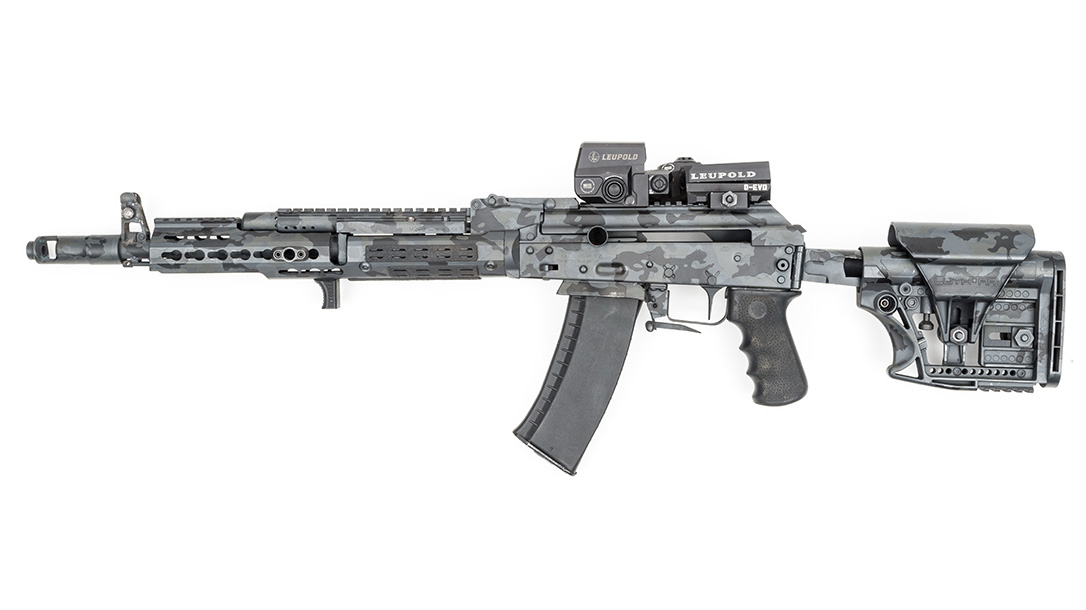 Joe Firearms Competition AK-74 Rifle, left