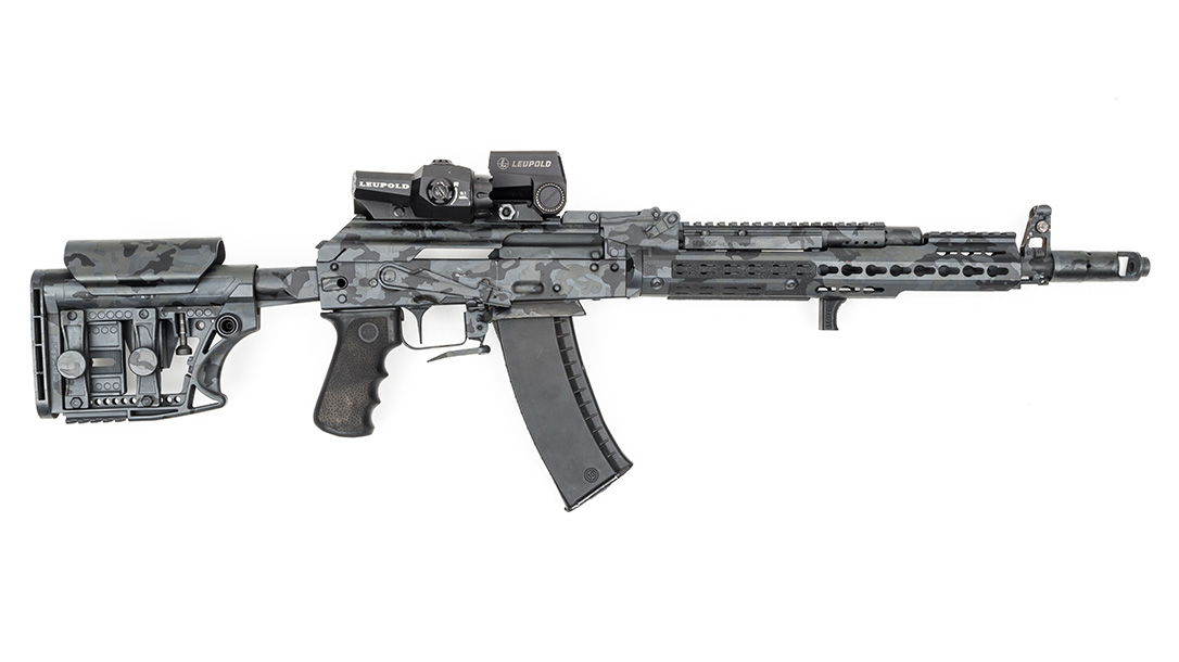 Joe Firearms Competition AK-74 Rifle, right