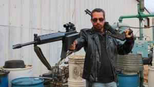 Guns of the Terminator, The Terminator guns, shotgun, rifle