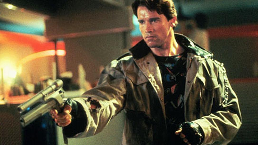 Guns of the Terminator, The Terminator guns, Arnold Schwarzenegger