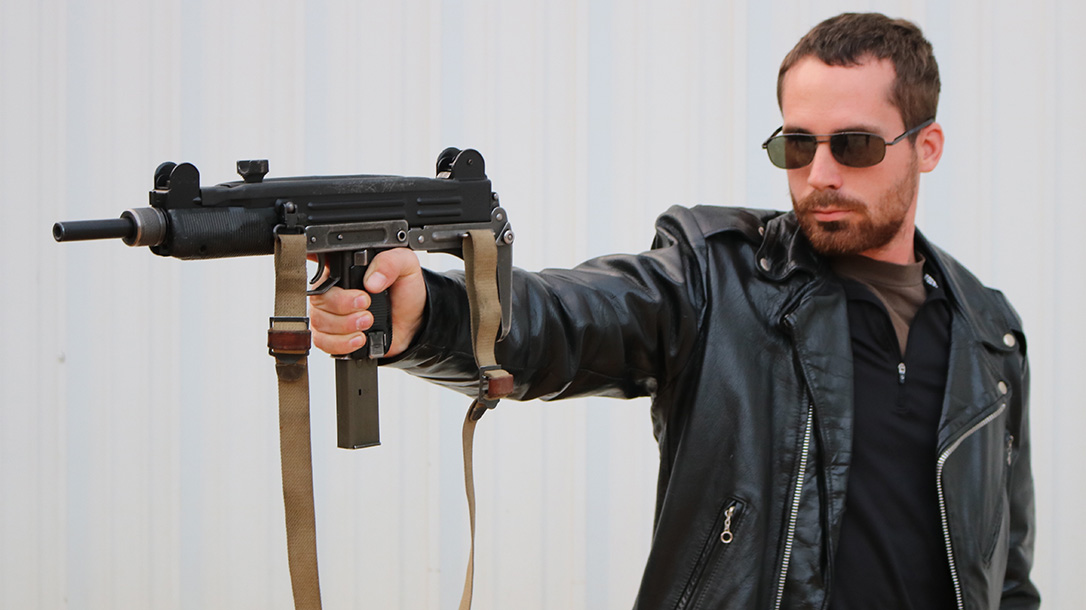 Guns of the Terminator, The Terminator guns, Israeli Uzi