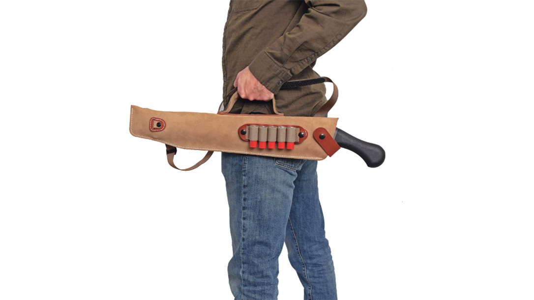 DeSantis Kurz Shotgun Case, Evil Dead Shotgun, holding