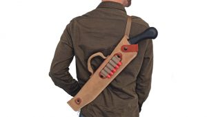 DeSantis Kurz Shotgun Case, Evil Dead Shotgun, back