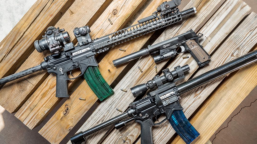 Chris Costa Rimfire Setups, rifle, AR, Handgun