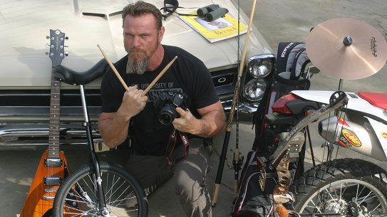 List of Hobbies, Pat McNamara, drums, golf