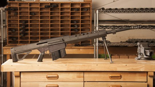 Serbu BFG-50A rifle review, lead