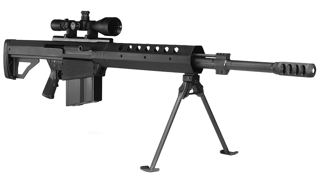 Serbu BFG-50A rifle review, .50-Caliber