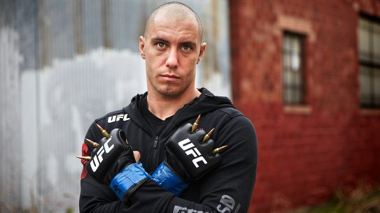 James Vick UFC, gloves