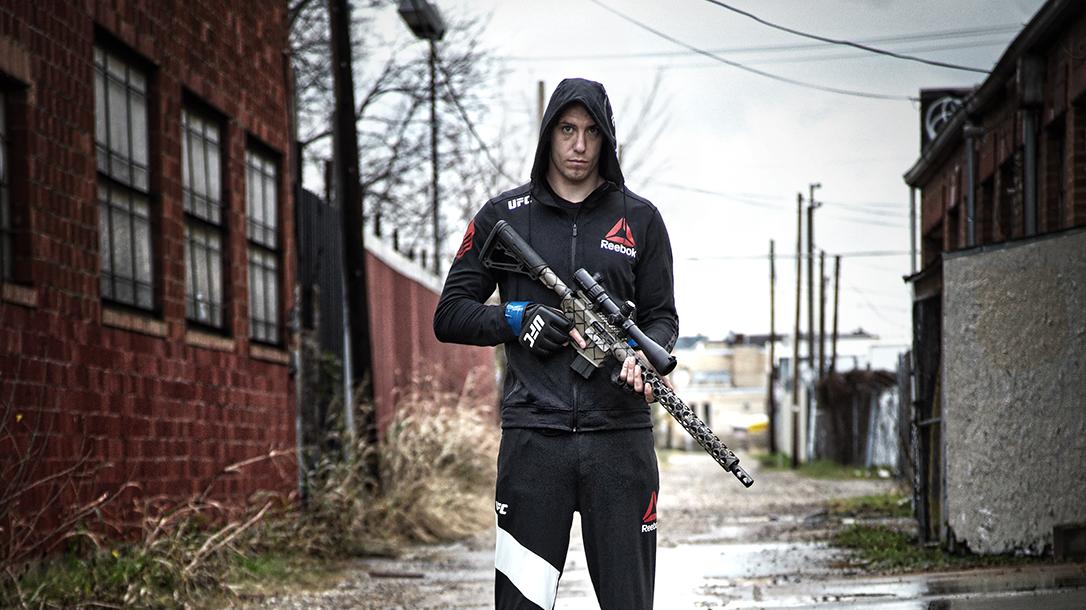 James Vick UFC, rifle