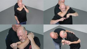 How to Escape a Chokehold, folding knife, lead