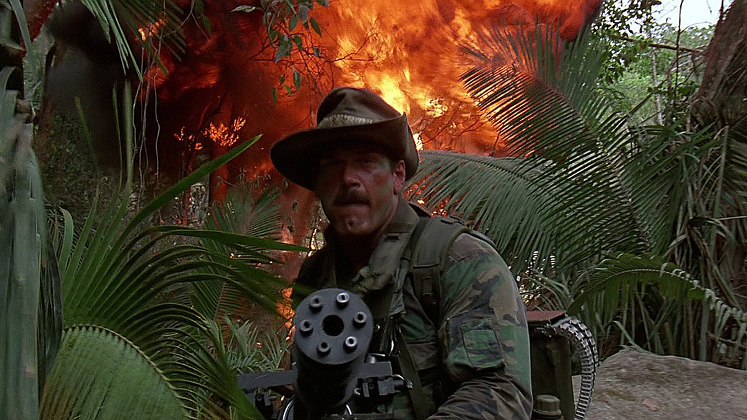 guns in movies, Predator Minigun