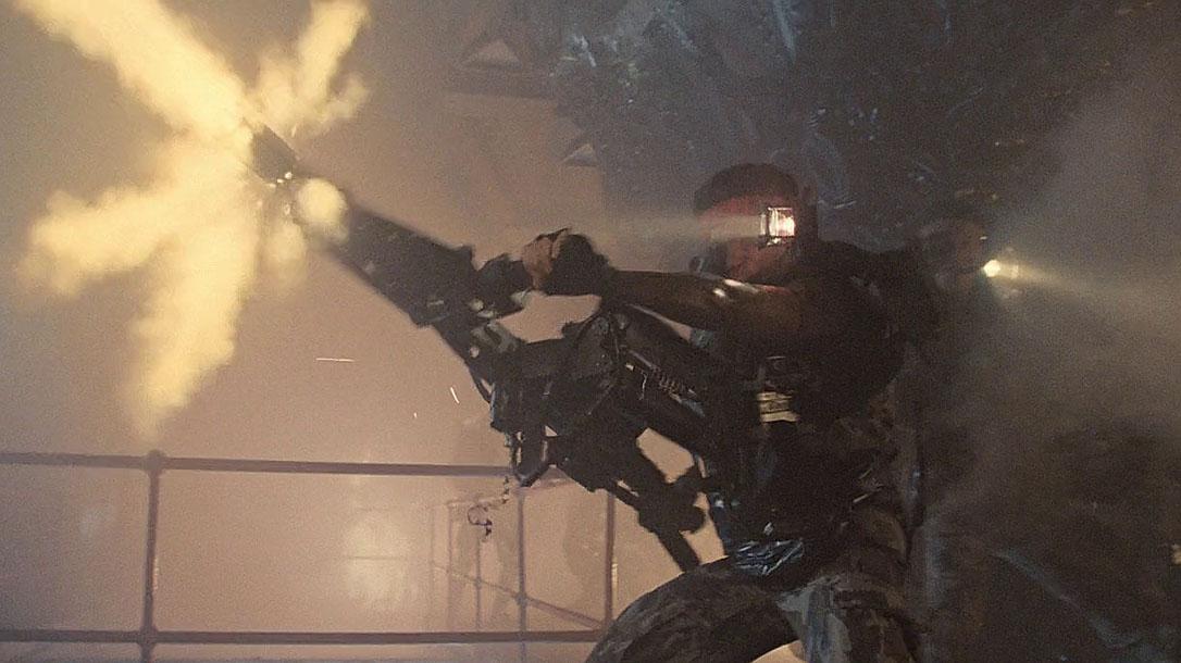 guns in movies, aliens, M56 Smart Gun