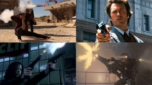 Best Guns in Movies all-time, dirty harry, desperado, underworld, aliens